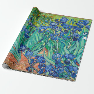 VINCENT VAN GOGH - Irises 1889 Wrapping Paper