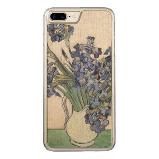 Vincent van Gogh Irises 1890 GalleryHD Fine Art Carved iPhone 8 Plus/7 Plus Case