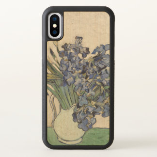 Vincent van Gogh Irises 1890 GalleryHD Fine Art iPhone X Case