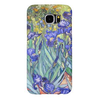Vincent Van Gogh Irises Floral Vintage Fine Art Samsung Galaxy S6 Cases