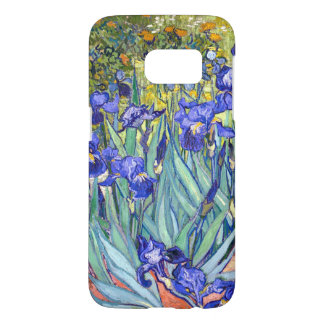 Vincent Van Gogh Irises Floral Vintage Fine Art Samsung Galaxy S7 Case