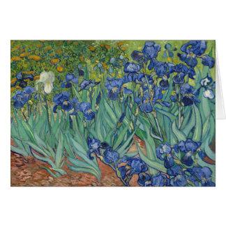 Vincent van Gogh Irises GalleryHD Fine Art Card