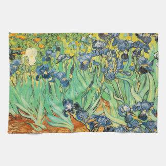 Vincent Van Gogh Irises Kitchen Towel