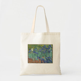 Vincent Van Gogh - Irises Painting Art Tote Bag