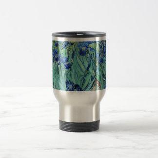 Vincent van Gogh Irises Travel Mug