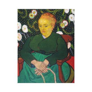 Vincent van Gogh La Berceuse Woman Canvas Print