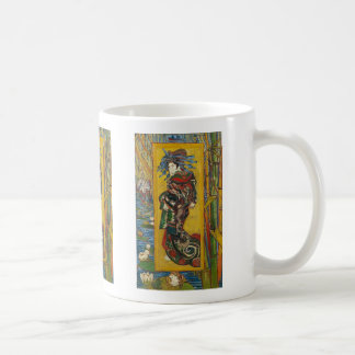 Vincent Van Gogh - La Courtisane Mug. Famous Art. Coffee Mug