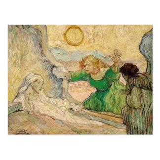 vincent van gogh- la résurrection de lazare (d'apr postcard