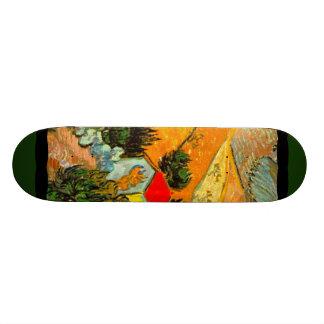 Vincent Van Gogh Landscape & House Enhanced Skate Board