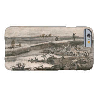 Vincent van Gogh - Landscape with Bog Trunks Barely There iPhone 6 Case