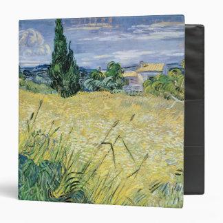 Vincent van Gogh | Landscape with Green Corn, 1889 Vinyl Binders