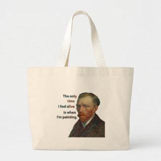 Vincent Van Gogh Large Tote Bag