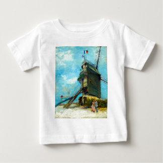 Vincent van Gogh Le Moulin de la Galette Baby T-Shirt