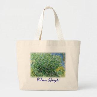 Vincent Van Gogh - Lilacs Jumbo Tote Bag