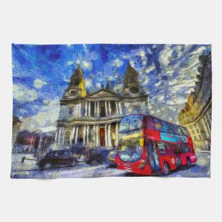 Vincent Van Gogh London Kitchen Towel