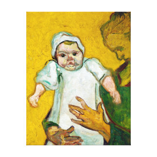 Vincent van Gogh Madame Roulin and Her Baby Canvas Print