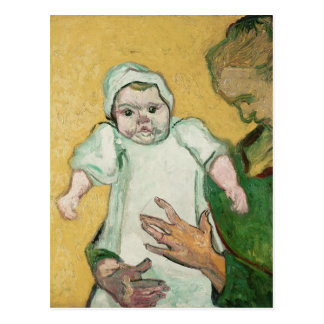 Vincent van Gogh | Madame Roulin and her baby Postcard