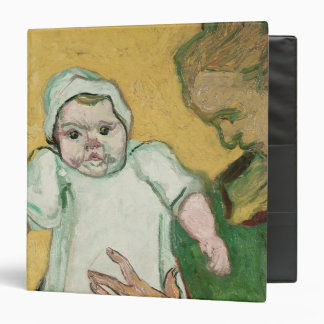 Vincent van Gogh | Madame Roulin and her baby Vinyl Binders
