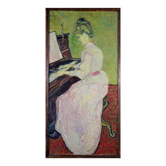 Vincent van Gogh   Marguerite Gachet at the Piano Poster