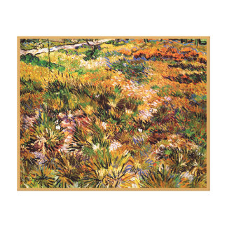 Vincent Van Gogh - Meadow In The Garden Fine Art Canvas Print