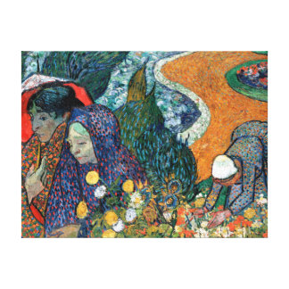 Vincent van Gogh Memory of the Garden at Etten Canvas Print
