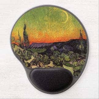 Vincent Van Gogh Moonlit Landscape Gel Mouse Pad
