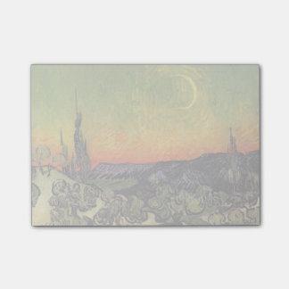Vincent Van Gogh Moonlit Landscape Post-it® Notes