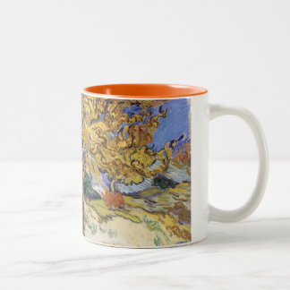 Vincent van Gogh | Mulberry Tree, 1889 Two-Tone Coffee Mug