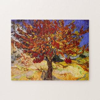 Vincent Van Gogh Mulberry Tree Fine Art Painting Puzzles