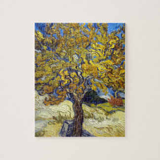 Vincent Van Gogh Mulberry Tree Jigsaw Puzzle