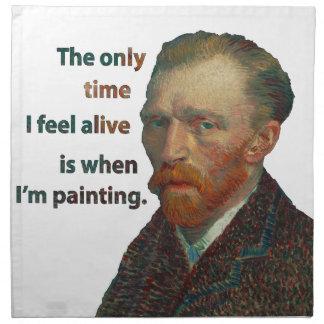 Vincent Van Gogh Napkin