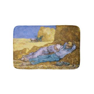 Vincent van Gogh | Noon, The Siesta, after Millet Bath Mat