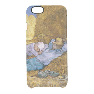 Vincent van Gogh | Noon, The Siesta, after Millet Clear iPhone 6/6S Case