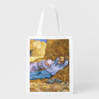 Vincent van Gogh   Noon, The Siesta, after Millet Market Tote