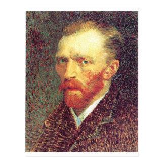 Vincent Van Gogh - Older Self Portrait Postcard