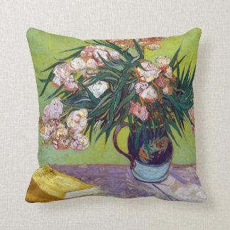 Vincent van Gogh Oleanders Throw Pillow