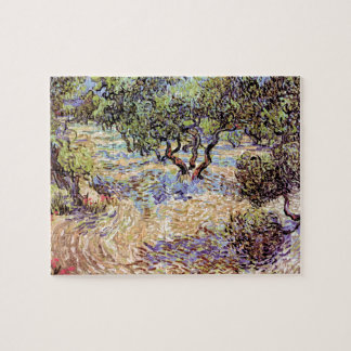 Vincent Van Gogh - Olive Orchard Fine Art Jigsaw Puzzle