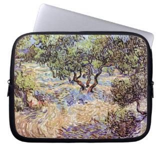Vincent Van Gogh - Olive Orchard Fine Art Laptop Sleeve