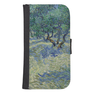 Vincent Van Gogh Olive Orchard Fine Art Painting Galaxy S4 Wallets