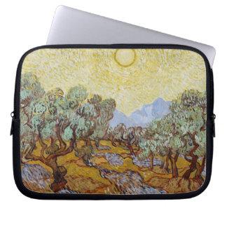 Vincent van Gogh | Olive Trees, 1889 Laptop Sleeves