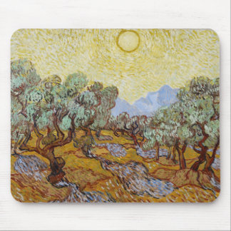 Vincent van Gogh | Olive Trees, 1889 Mouse Pad