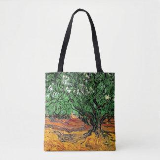 Vincent Van Gogh - Olive Trees Fine Art Tote Bag