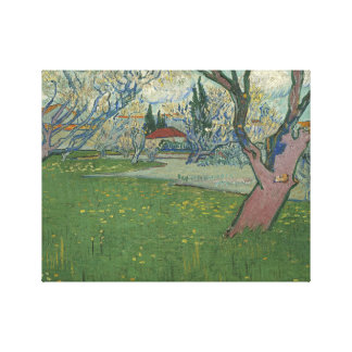 Vincent van Gogh - Orchards in Blossom Canvas Print