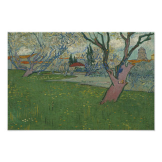 Vincent van Gogh - Orchards in Blossom Poster