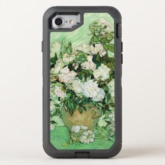 Vincent van Gogh Painting, Roses 1890 OtterBox Defender iPhone 8/7 Case