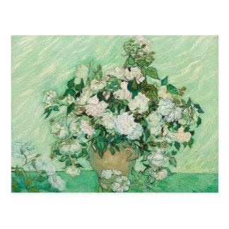 Vincent van Gogh Painting, Roses 1890 Postcard