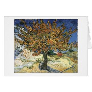 Vincent Van Gogh Painting: Van Gogh Mulberry Tree Greeting Card