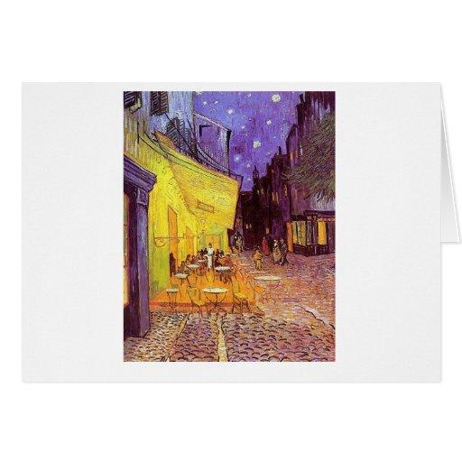 Vincent Van Gogh Paintings: Van Gogh Cafe Greeting Card