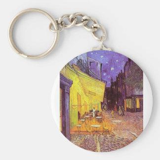 Vincent Van Gogh Paintings: Van Gogh Cafe Keychain