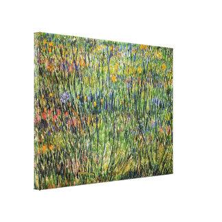 Vincent Van Gogh - Pasture In Bloom Fine Art Canvas Print